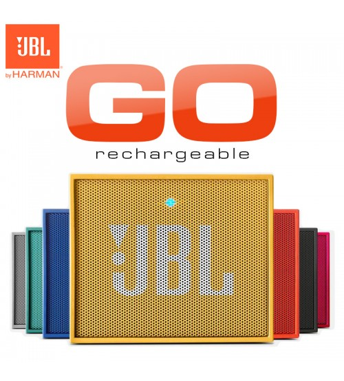 JBL Go Rechargeable Portable Wireless Bluetooth Speaker