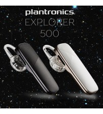 Plantronics Explorer 500 Bluetooth Headset HD Voice with Charging Strap
