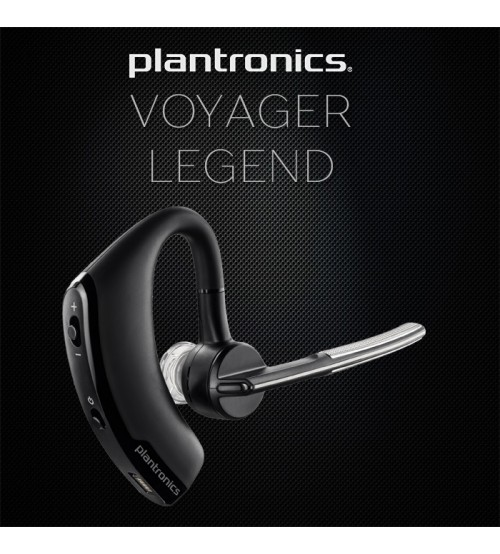 Plantronics Voyager Legend Bluetooth Headset Pair Two Phone With Magnetic Charging Case