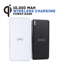 Q8 10,000mAh Qi Integrated Wireless Or Wired Power Bank