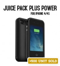 Power Case 2000mAh Juice Pack Plus Power Case/Sleeve for iPhone 4/4S