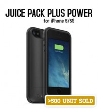 Power Case 2500mAh Juice Pack Plus Power Case/Sleeve for iPhone 5/5S