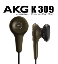 AKG K309 Semi Open Stereo Lightweight In Ear Bud Headphones By Harman JBL