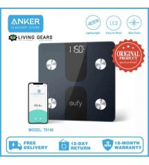 Anker T9146 Eufy Smart Scale C1 with Bluetooth, Body Fat Scale, Wireless Digital Bathroom Scale, 12 Measurements
