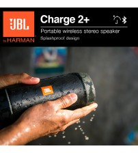 JBL Charge 2+ Plus Splashproof Portable Bluetooth Wireless Speaker