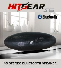 HitGear S6 Universal Wireless High Performance 3D Bluetooth Speaker With Microphone / FM / LED Light