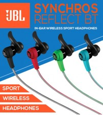 JBL Synchros Reflect BT In-Ear Wireless Sport Headphones