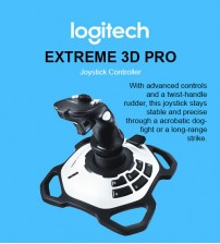 Logitech Extreme 3D Pro Gaming Game Joystick Controller