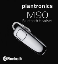 Plantronics M90 Bluetooth Headset With Language Option / Power Saving / Music Controls