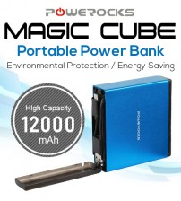 Powerocks Magic Cube Portable Power Bank 12000mAh