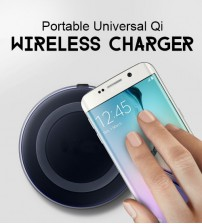 Portable Universal Qi Wireless Charger Pad