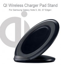 Portable Qi Wireless Fast Charger Pad for Samsung Galaxy Note 5 / S6 / S7 Edge+