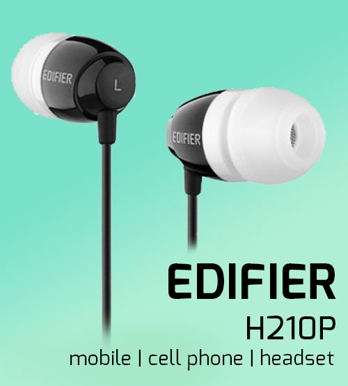 Edifier H210P Ear Set Wired Earphone With Inline Mic/Remote and Call Control