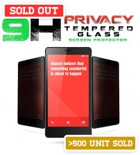 9H PRIVACY Premium Light Weight 0.25mm Tempered Glass Screen Protector For Mobile Gadgets