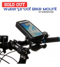 Waterproof Bike Mount for Smartphones