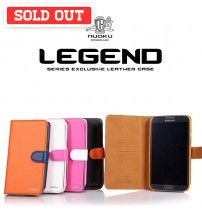 Nuoku Legend Series Exclusive Leather Case For Samsung Note 2, Galaxy S3/S4, iPhone 4/4s/5