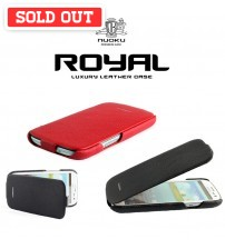 Nuoku Royal Luxury Leather Case For Samsung Galaxy S3
