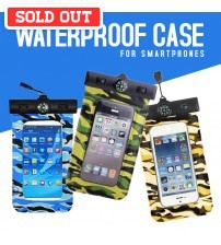Waterproof Case With Compass For Smartphones