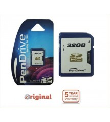 PenDrive 32GB Flash Memory Card SDHC Class 4