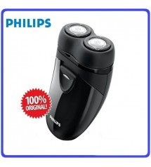 Philips PQ206 Mens Dry Electric Shaver Battery Powered 2 Head Electric Shaver