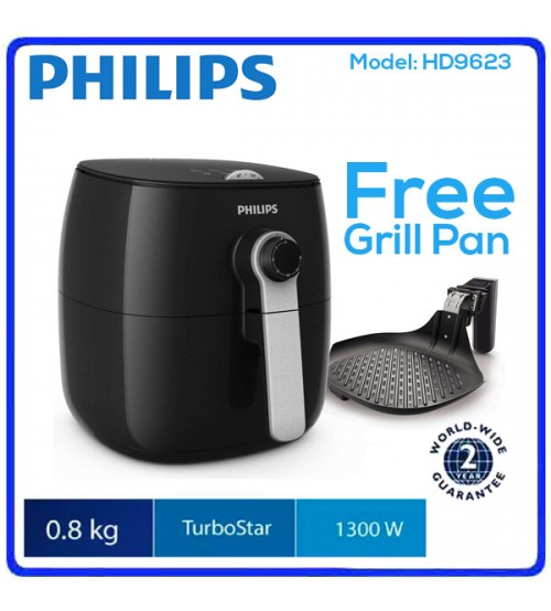 Philips Air Fryer HD9623 2.2L With Grill Pan
