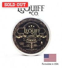Lequiff & Co Strong Hold Water Based Hair Pomade (100g)