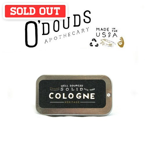 O'douds All Natural Heritage Solid Cologne (15g)