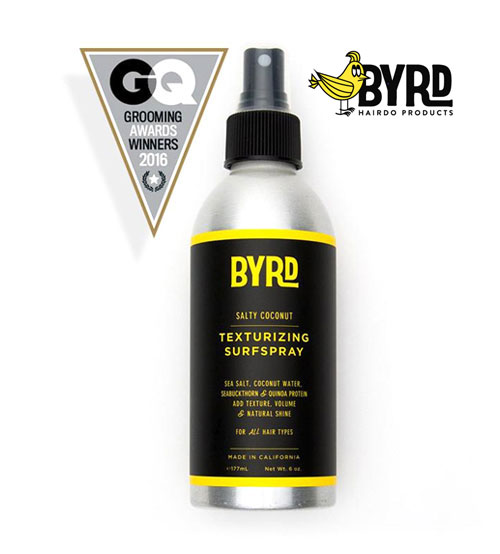 Byrd Surfspray Texturizing Spritz For Volume, Shine & Texture (177ml)
