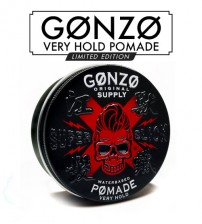 Gonzo Original Supply Hair Pomade Water Base Super Slick Very Hold - Limited Edition (130g)