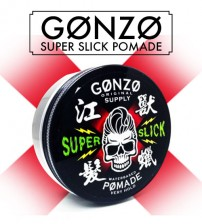 Gonzo Original Supply Hair Pomade Water Base Super Slick Very Hold (130g)