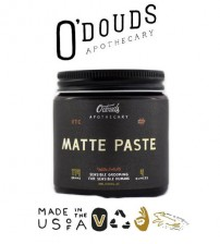 O'Douds Apothecary All Natural Water Based Matte Pomade (114g)