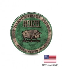 Reuzel Green Grease Medium Hold Hollands Finest Hair Pomade (113g)