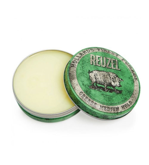 Reuzel Green Grease Medium Hold Hollands Finest Hair