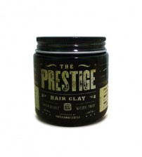 The Prestige All Natural Water Soluble Hair Clay Natural Finish (100ml)