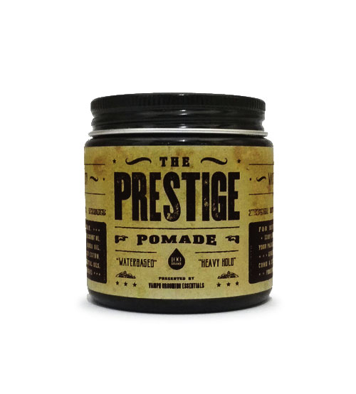 The Prestige Waterbased All Natural Hair Pomade Heavy Hold (100ml)