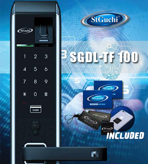 St Guchi Smart Digital Door Locks With Auto Lock Features