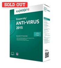 Kaspersky Anti-Virus 2015 Original  **FREE Internet Security for MAC & Android