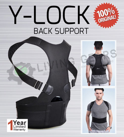 Y-Lock Elastic High Quality Back Support / Chest Up [ Imported ]