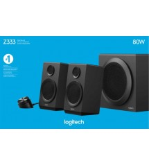 Logitech Z333 Multimedia Speaker System 2.1 With Subwoofer