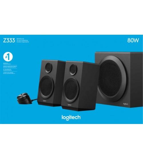 Logitech Z333 Multimedia Speaker System 2.1 With Subwoofer