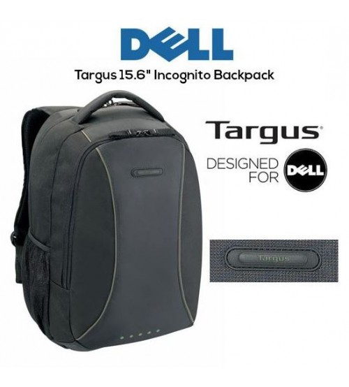 "Dell Targus Sports Computer Notebook Laptop Bag Backpack 15.6"" Inch Carry Beg (Olive Line)"