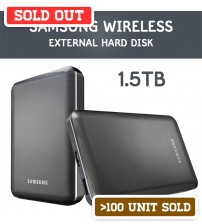 Samsung Wireless 1.5Tb External Portable Hard Drive