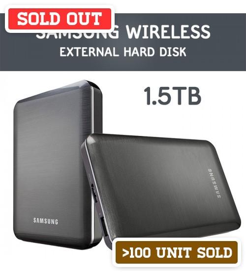 Samsung Wireless 1.5Tb External Portable Hard Drive