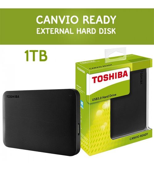 Toshiba Canvio Ready Basics 3.0 USB Portable External Hard Drive ( 500GB / 1TB / 2TB )