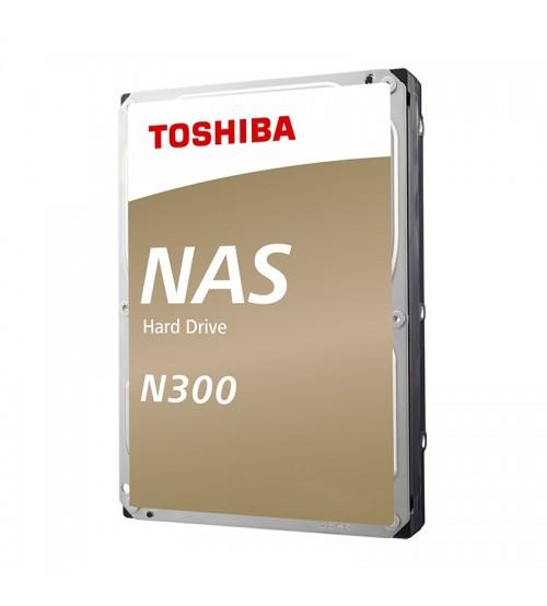 """Toshiba 128MB 3.5"""" SATA 6.0Gbit/s 7200RPM N300 Internal Hard Disk Drive For NAS ( 4TB / 6TB / 8TB / 10TB )"""