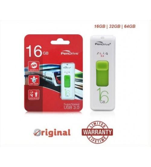PenDrive SLIQ 3.0 USB3.0 Flash Drive Pendrive Flashdrive Thumbdrive Memory with Activity LED Light