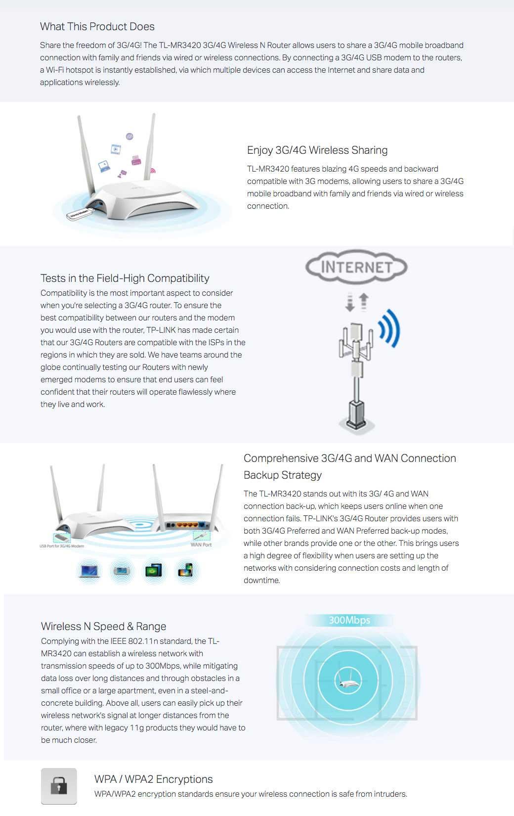 Tp Link Tl Mr3420 3g 4g Broadband 300mbps Lte Wireless N Router Mr3020 Portable Description Reviews 0