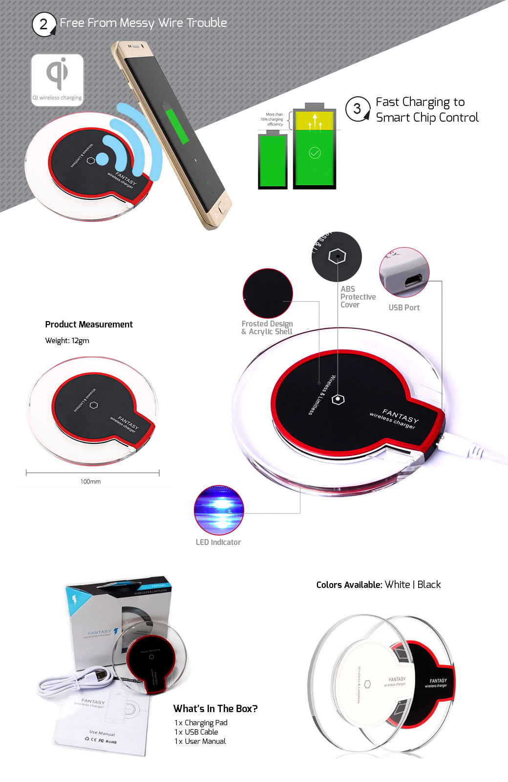 how to connect fantasy wireless charger