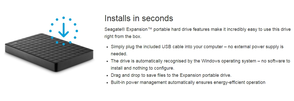 how to transfer files to seagate expansion portable drive